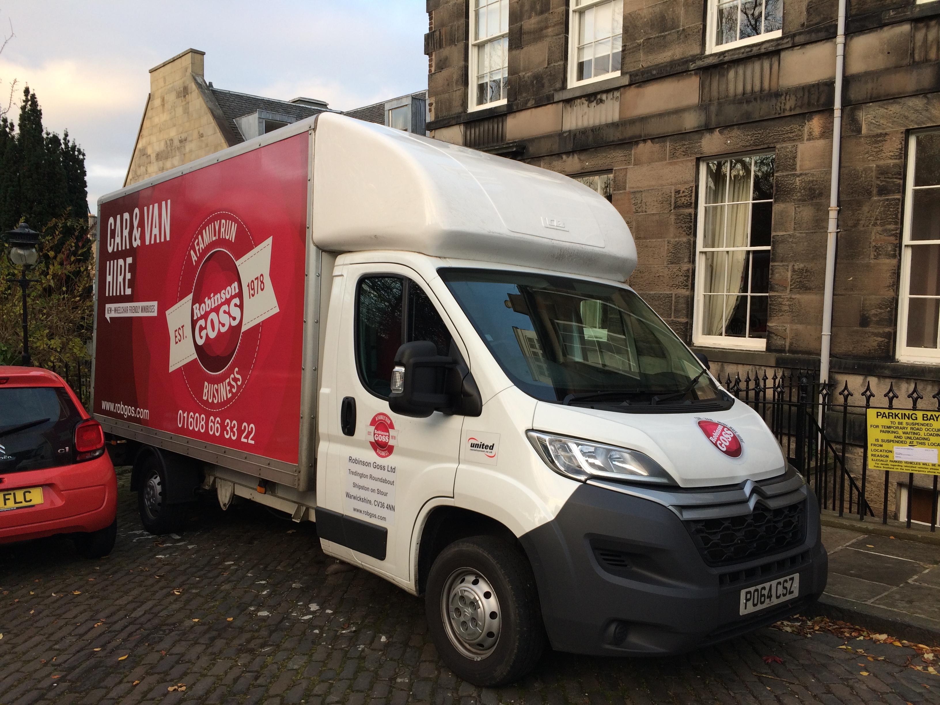 House Removal Cheltenham to Edinburgh